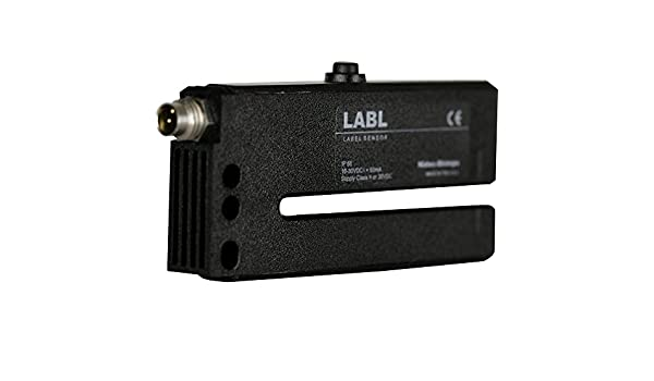 Shimpo LABL-1 Label Sensor M8 Connection Plastic Housing with Standard and Thin Learn Functions 3mm Gap