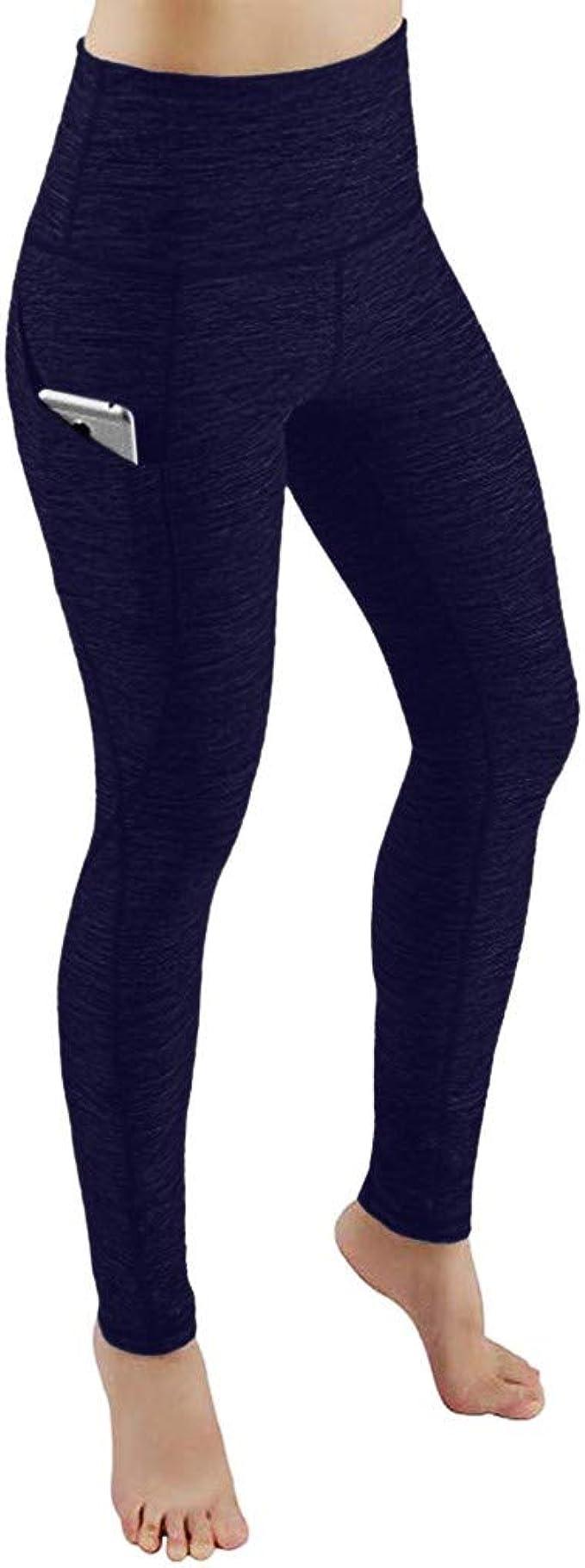 ZARLLE Leggings Deporte Mujer Pantalon Elastico Mujer Mallas de ...