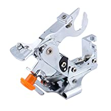 Yosoo Ruffler Sewing Machine Presser Foot-for All Low Shank Singer Brother, Babylock,New Home, Janome, Kenmore, Bernina, Bernette Husqvarna Juki Feet for Gathering, Pleats and Ruffles-Sewing & Crafts