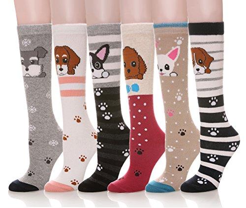 Patterned Knee Sock - 5