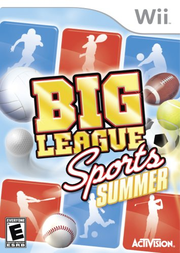 Big League Sports: Summer - Beach Wii Big Sports