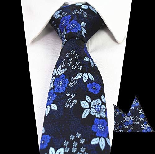 LLZGPZLD Corbata/Diseño Delicado Corbata para Hombre Floral ...