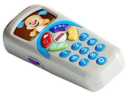 51J98R1Nf7L - Fisher-Price Laugh & Learn Puppy's Remote