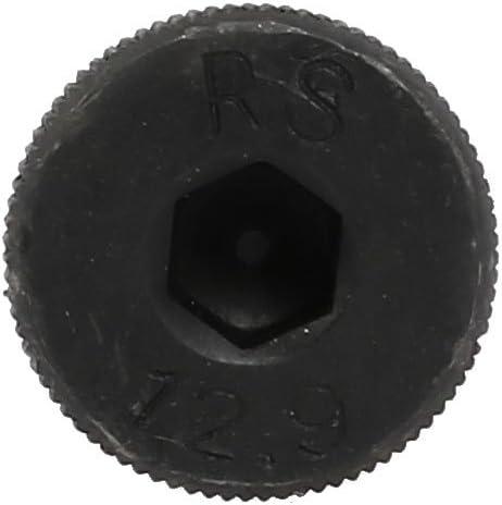 uxcell 2pcs Alloy Steel Hex Socket Drive M10x110mm Shoulder Screw M8x13mm Thread