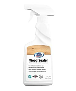 Rainguard International SP-8006 Ready to Use 16 oz Spray Bottle Premium Wood Sealer, Water Repellent Protection for Wood Surfaces, Clear Invisible