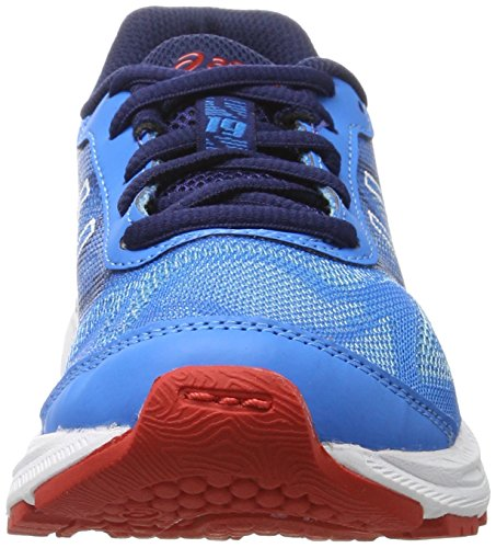 Asics Unisex-Kinder Gel-Nimbus 19 Gs Gymnastikschuhe Blau (Diva Blue/white/indigo Blue)