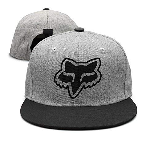 Adjustable Fox Hat - Hearnsom Barred Fox Logo Unisex Adjustable Baseball Hats Trucker Cap