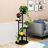 FTFTFTF Flower Stand, Indoor Space, Living Room, Subway, Art, Green, Green, Orchid, Flower Pot Rack, Multi-Layer,3,10045cm