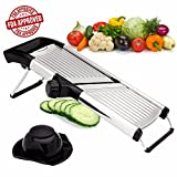 Adjustable Vegetable Mandoline Slicer - Kitchen Cuts from...