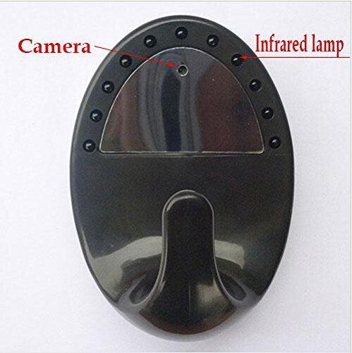Generic espía cámara de ropa Gancho Colgador Para Ropa HD cámara oculta 1280* 720P visión nocturna Control Remoto...