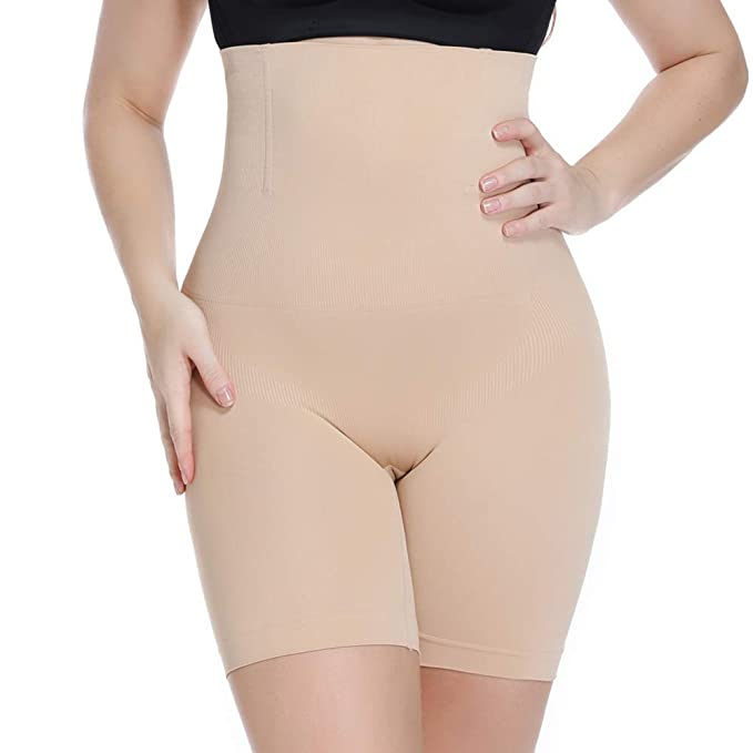 Joyshaper High Waist Tummy Control Panties for Women Thigh Slimmer Slimming Control Briefs Body Shaper Shapewear Boned Butt Lifter Underwear