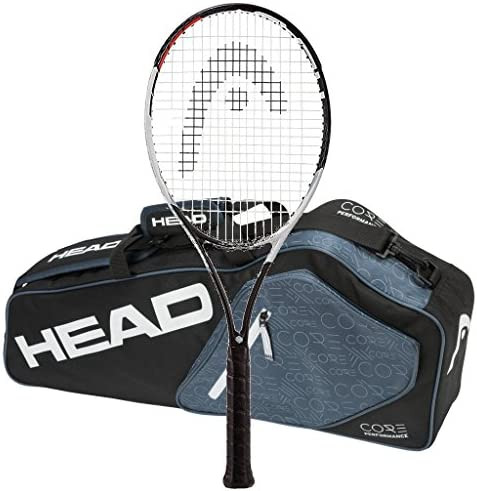 Head 2017-2018 Graphene Touch Speed Pro – STRUNG with 3 Racquet Tennis Bag