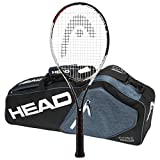 Head 2017-2018 Graphene Touch Speed Pro - Strung with 3 Racquet Tennis Bag (4-1/2)