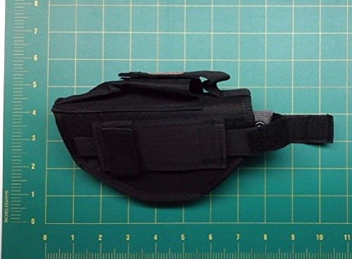 Elite Tactical Ambidextrous Gun Belt Holster Right or Left Handed Black Military