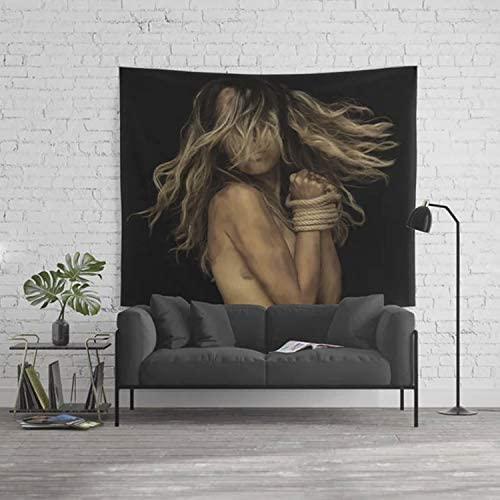 CB Smiles Bondage Tapestry Sexual Tapestry Sex Tapestries Sexy Tapestries BDSM Tapestries S M Tapestry BDSM Wall Art Bondage Tapestries Sex Art Large 104 x 88 Inches