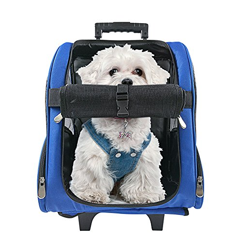 pet-travel-rolling-luggage-carrier-bag-backpack-for-dogscats-small-animalsblue