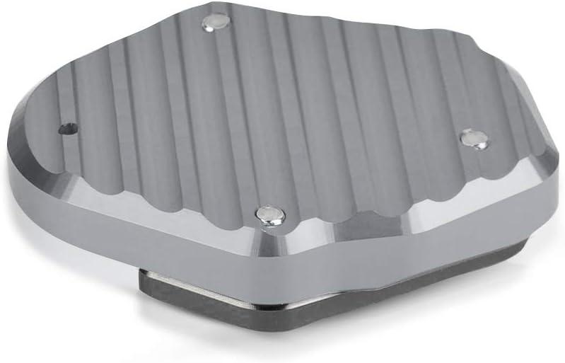 CNC Aluminium Motorrad Seitenst/änder Vergr/ö/ßern Platte f/ür Kawasaki Z400 2018-2020 Gold