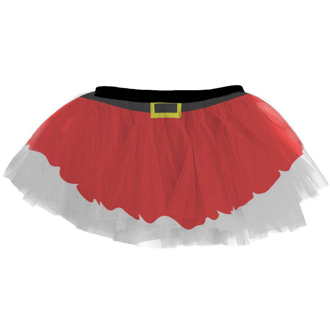 Runners Printed Tutu by Gone For a Run | Lightweight | One Size Fits Most | Colorful Running Skirts | Santa Skirt