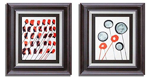 Alexander Calder Untitled Color Lithograph (2pc. Set), 1966 ()