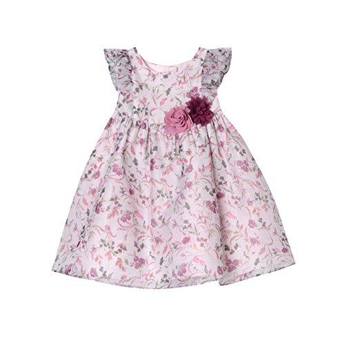 Fancy Frock For Baby - Pastourelle Baby-Girls' Flutter Sleeve Organza Dress,