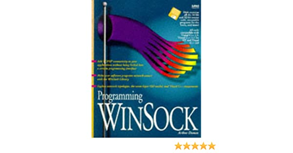 Programming Winsock/Book and Disk: Arthur Dumas: 9780672305948