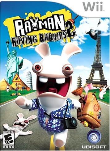 Ubisoft Rayman Raving Rabbids 2, Wii Nintendo Wii Inglés vídeo - Juego (Wii, Nintendo Wii, Acción / Aventura, Modo multijugador, E10 + (Everyone 10 +)): Amazon.es: Videojuegos