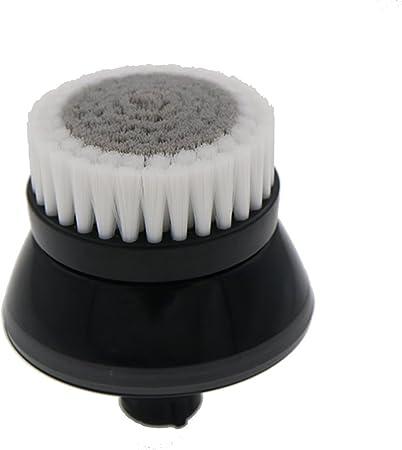VINFANY Negro Facial suave de fibra Limpieza facial Limpieza profunda Lavado Cuidado de poros Afeitadora Cabeza de cepillo para Philips RQ12 RQ11 RQ320 RQ370 YS523 YS526 S9000: Amazon.es: Belleza