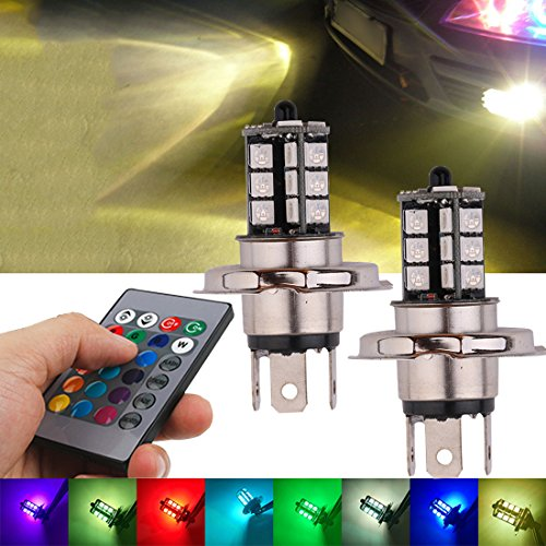 7 color fog lights with remote - 1