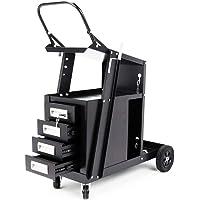 New 4-Drawer Welding Trolley Cart Welder Cabinet MIG TIG ARC Plasma Cutter Bench