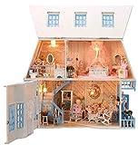 Kit main Dollhouse Set Bonheur miniature de l'île de soleil