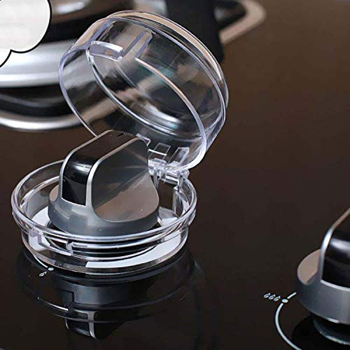 XYBH Stove Knob Covers for Child Safety Clear 1 Pair