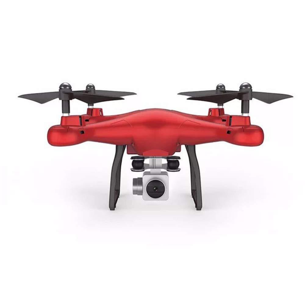 ASQXYFCT Quadrocopter Luftbild Drohne Fernbedienung Flugzeug UFO,rot,WRJ