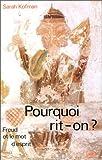 img - for Pourquoi rit-on?: Freud et le mot d'esprit (De bats) (French Edition) book / textbook / text book