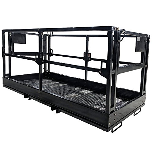 Titan 4'x8' Telehandler Work Platform Man Basket by Titan Attachments (Image #1)