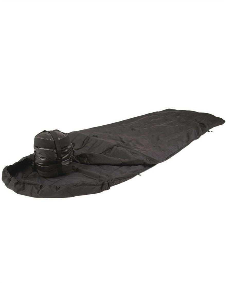 Saco de dormir británico Mil-Tec Mil-Tec británico Survival negro 661fa7
