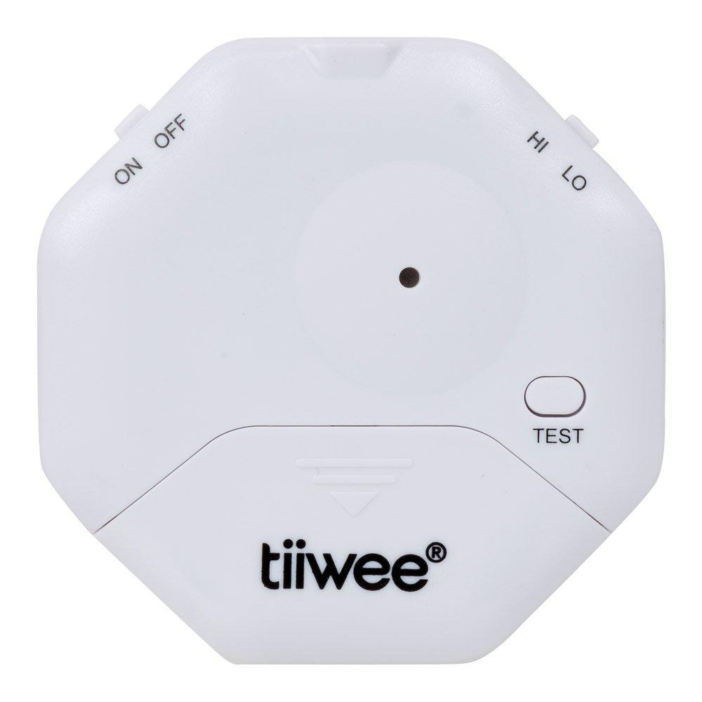 tiiwee Alarma Anti Rotura de Cristales - Ventanas seguras - Protección contra robo para Ventanas - Alarma de Casa - Juego de 4: Amazon.es: Industria, ...