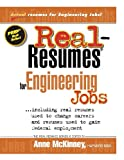 Real-Resumes for Engineering Jobs, Anne McKinney, 1475099134