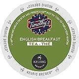 Timothy's Teas & Herbal Teas 74-01170 English Breakfast Tea K-cups, 24-Count