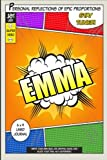 superhero emma a 6 x 9 lined journal diary notebook