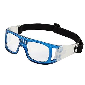 ZhangHongJ,Antiniebla Deportes al Aire Libre Gafas Protectoras fútbol Baloncesto Gafas de Seguridad(Color:Azul): Amazon.es: Hogar