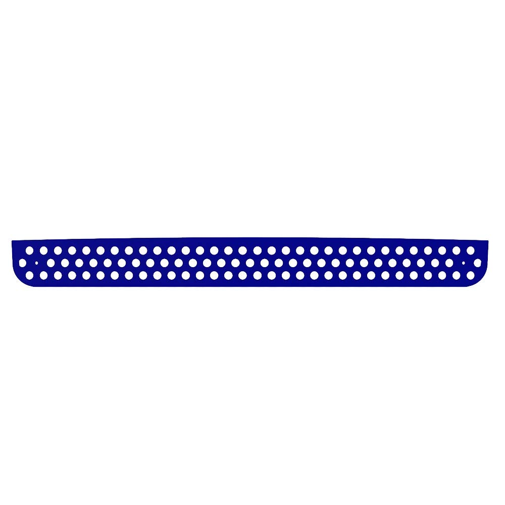 2005-2010 Hummer H3 TRK-132-03-White-a Ferreus Industries Grille Insert Guard Circle Punch White Powdercoat fits
