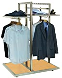 Pearl District 3-Way Garment Display Rack Retail Clothing Store Fixture NEW
