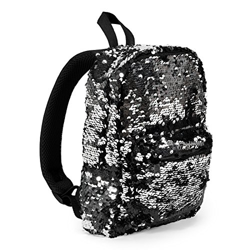 Black and Silver Sequin School Supplies Childrens Nylon for sale  Delivered anywhere in USA