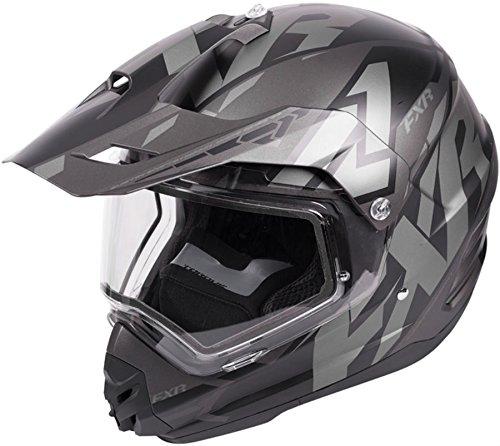 X-large Snowmobiles Helmets - FXR Torque X Core Mens Snow Helmet With Electric Shield Black Ops XL