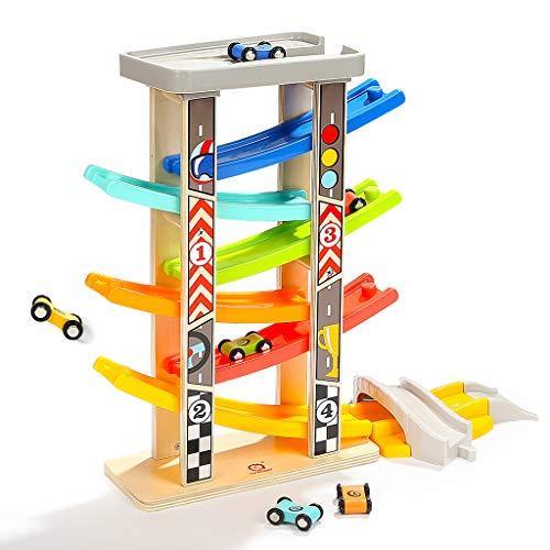 ZaiQu Baby Glider Track Toy Car Child Educational Toy Boy Reconocimiento Visual 1-6 años