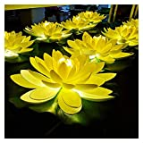 Blessing and wishing artificial lotus lamp Outdoor