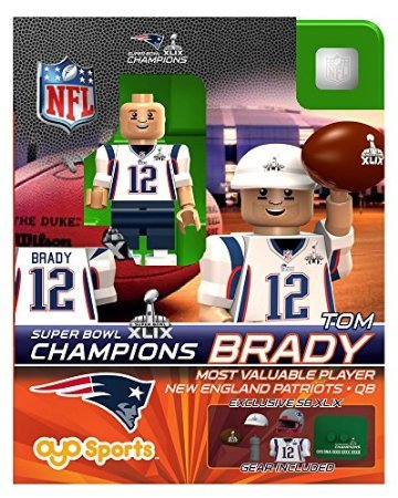 Series Bowl (Tom Brady OYO NFL New England Patriots MVP G2 Series 7 Super Bowl XLIX Champions Mini Figure Limited)