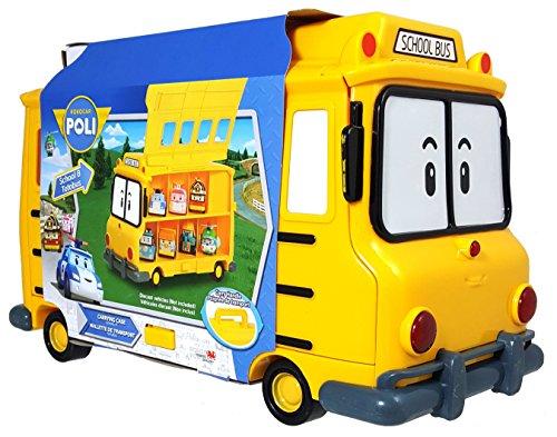 Robocar Poli School Bus Carry Case (Transformer School Bus)