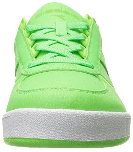 Diadora Uomo B. Elite Brillante Scarpa Da Tennis Verde Lampo