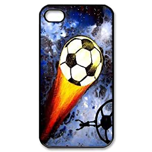 Yo-Lin case FXYL279269Playing soccer-football protective case For Iphone 4 4S case cover